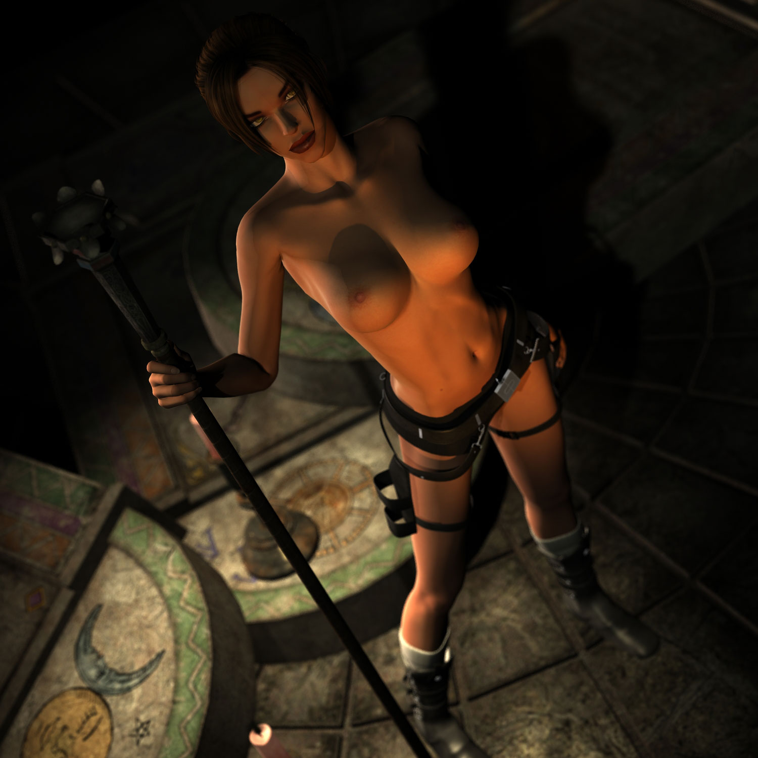 Sexy anime tomb raider naked adult videos