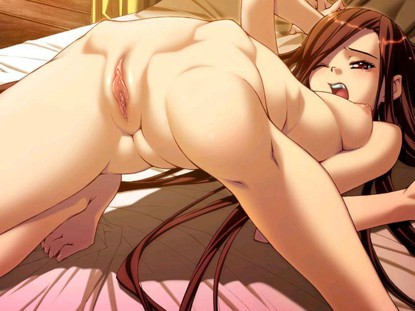 Naked nude animation anime famous breasts