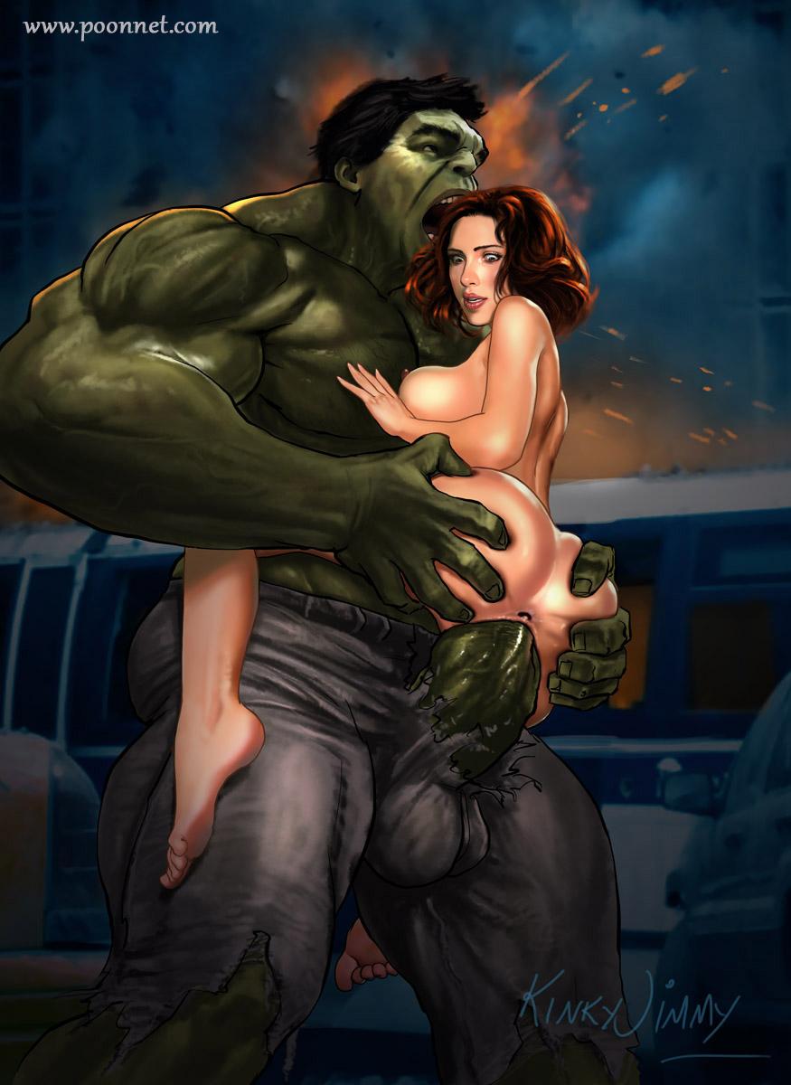Intelligible message Black widow y hulk hentai