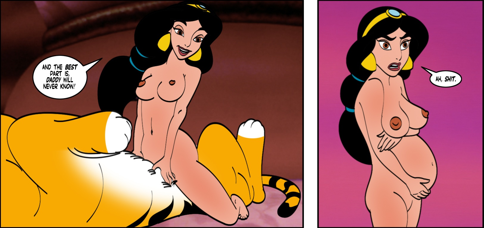 Jasmine aladdin sex comic