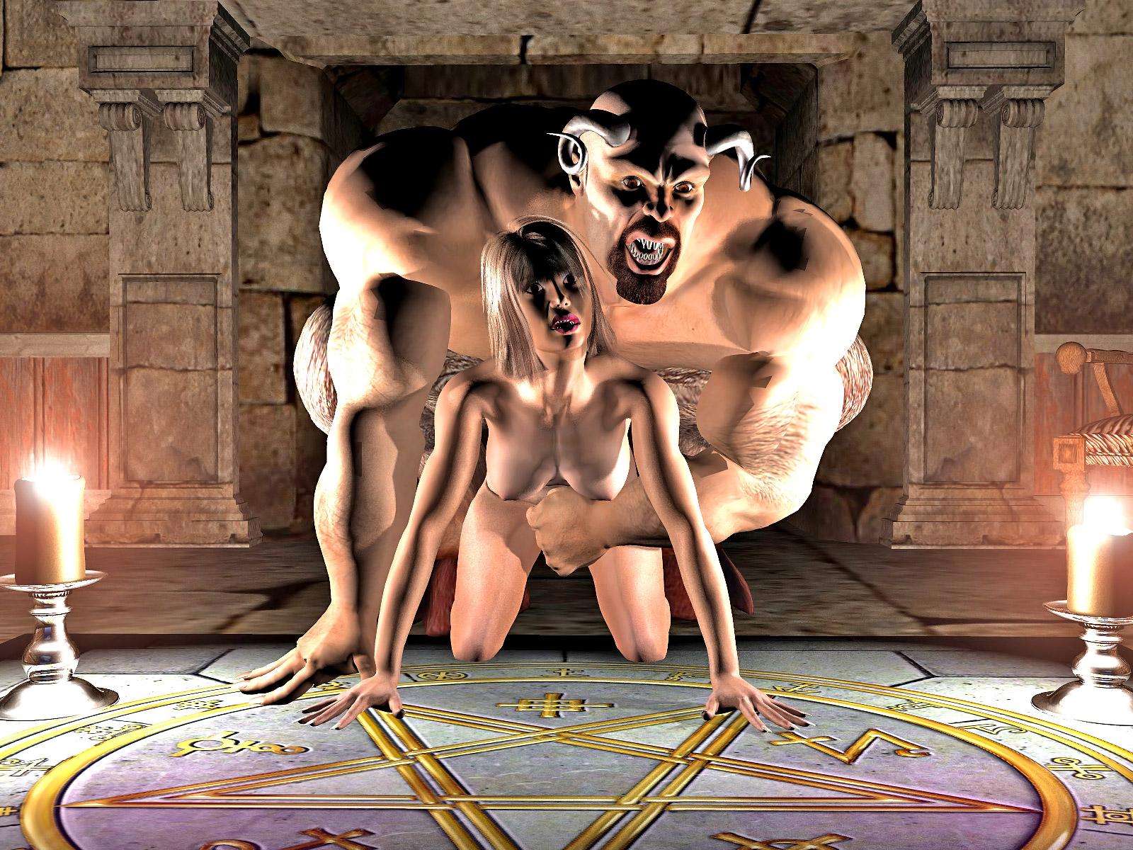 Секс с демоном 3d 7 фотография