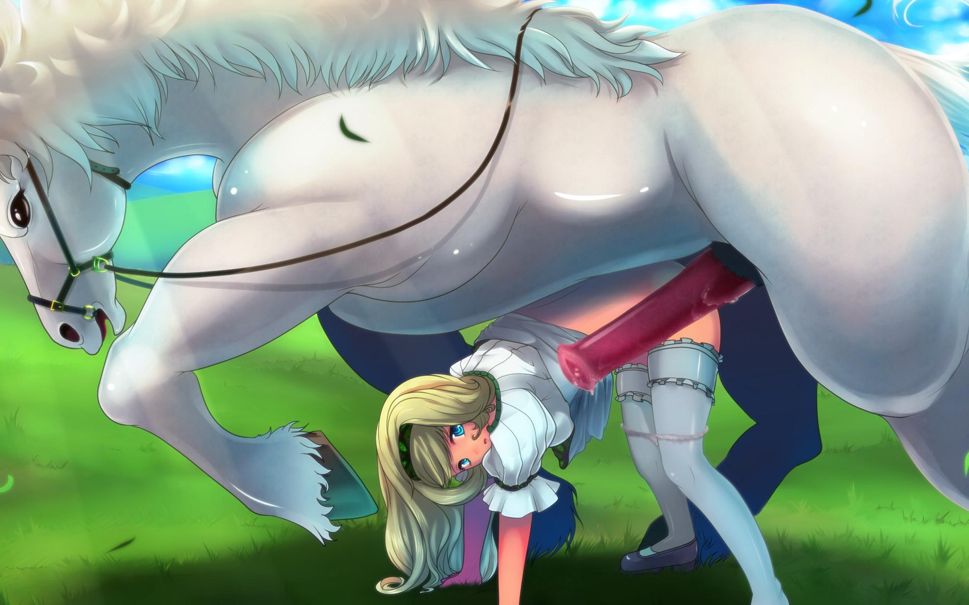 Horse hentai porn
