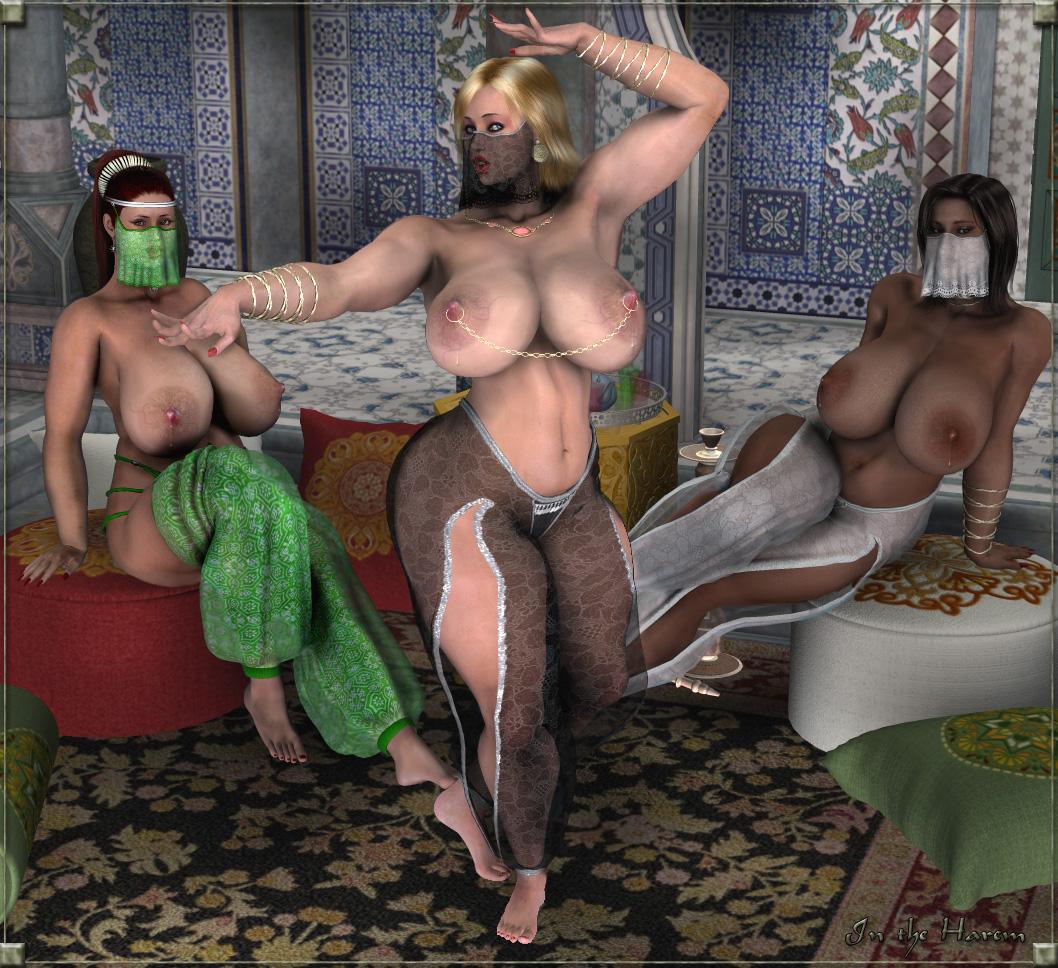 порно гарем у султана