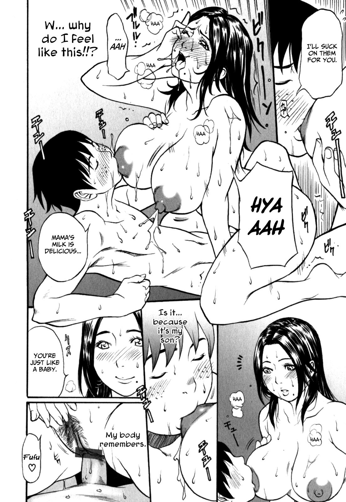 Manga son sex mom and