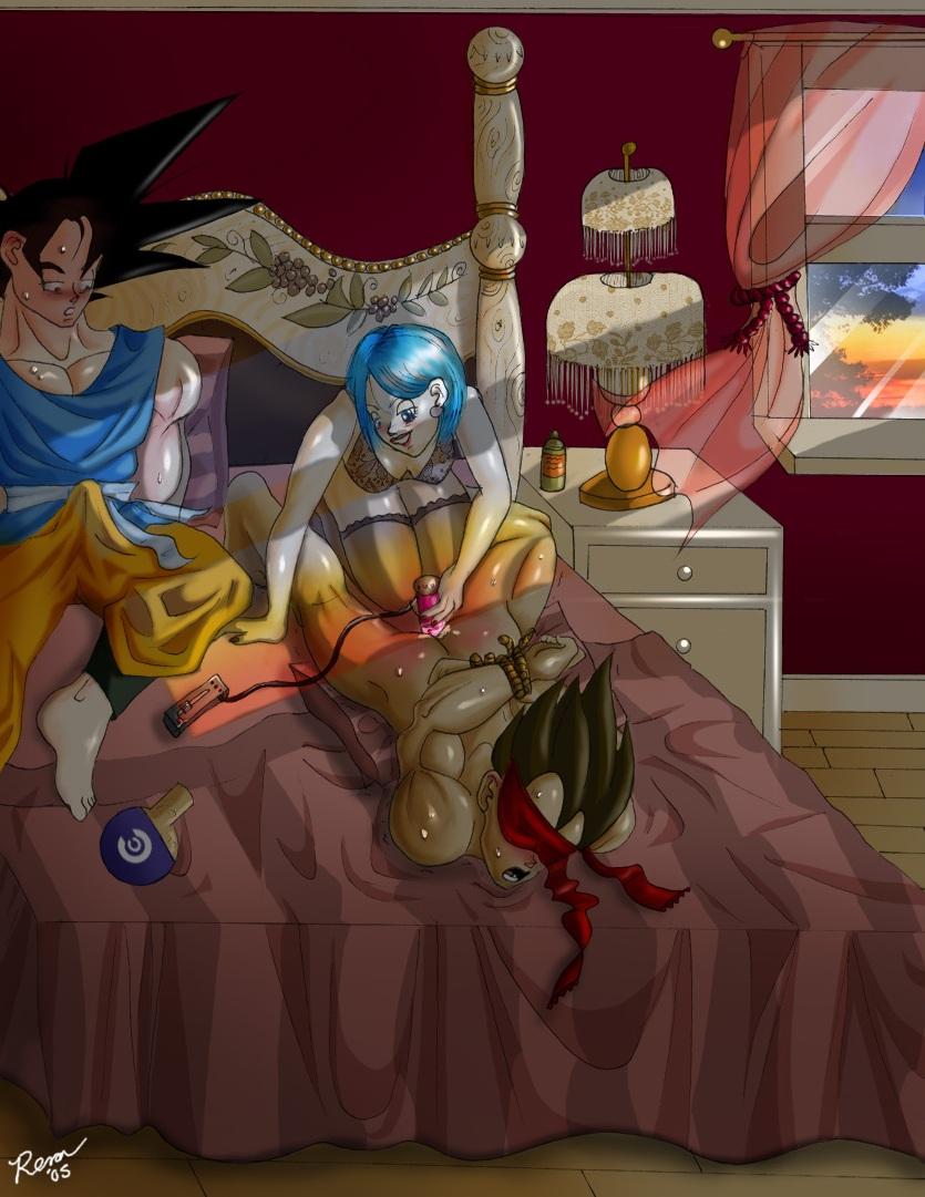 Dragon Ball Z Vegeta e Bulma sexo -