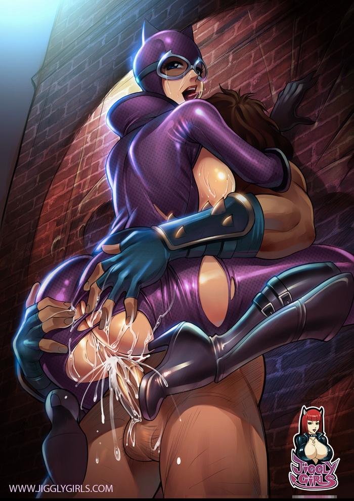 Catwoman Porno