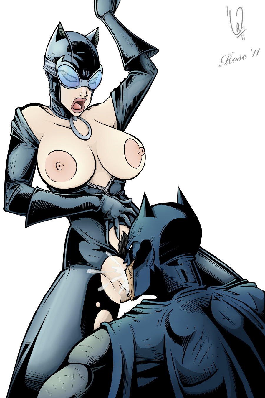 Catwoman pussy pics hentai porn movie