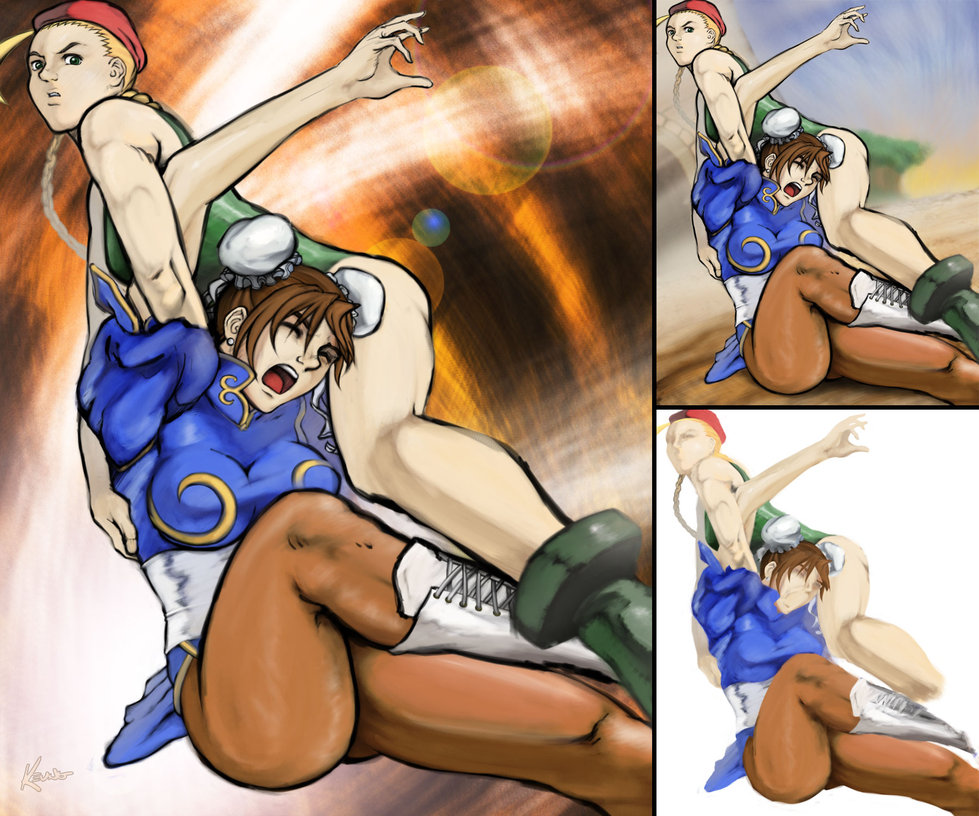 cammy sex with chun li