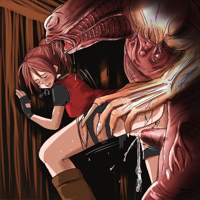 Are going Claire redfield hentai your