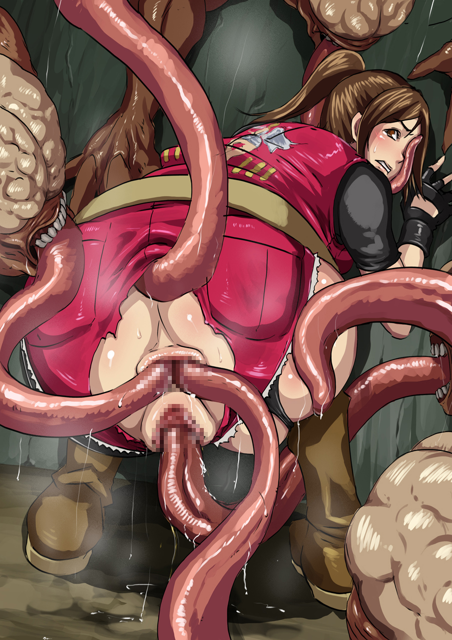 Resident evil asshole licker hentai hentay breasts