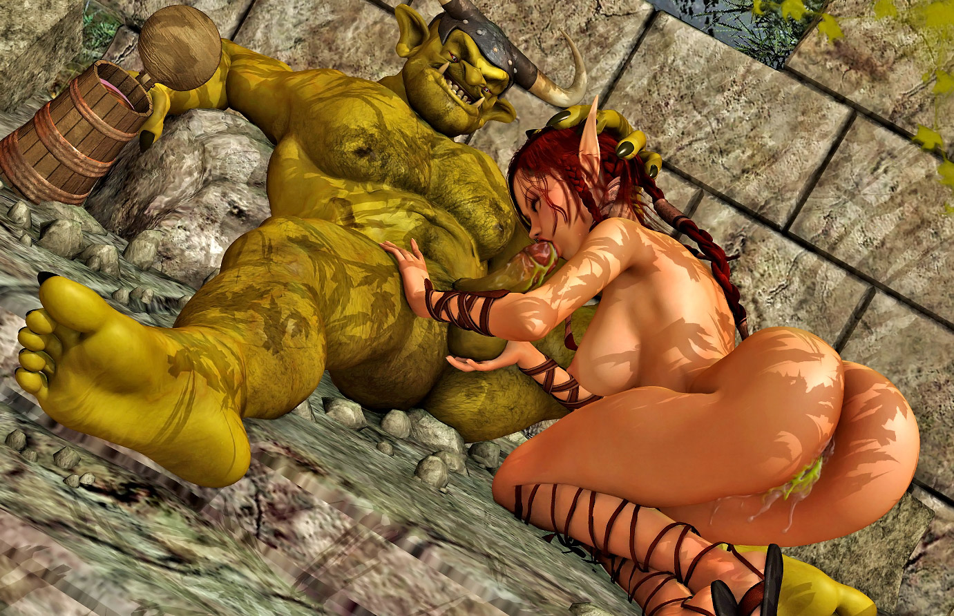 3d porn elf and orc pron picture