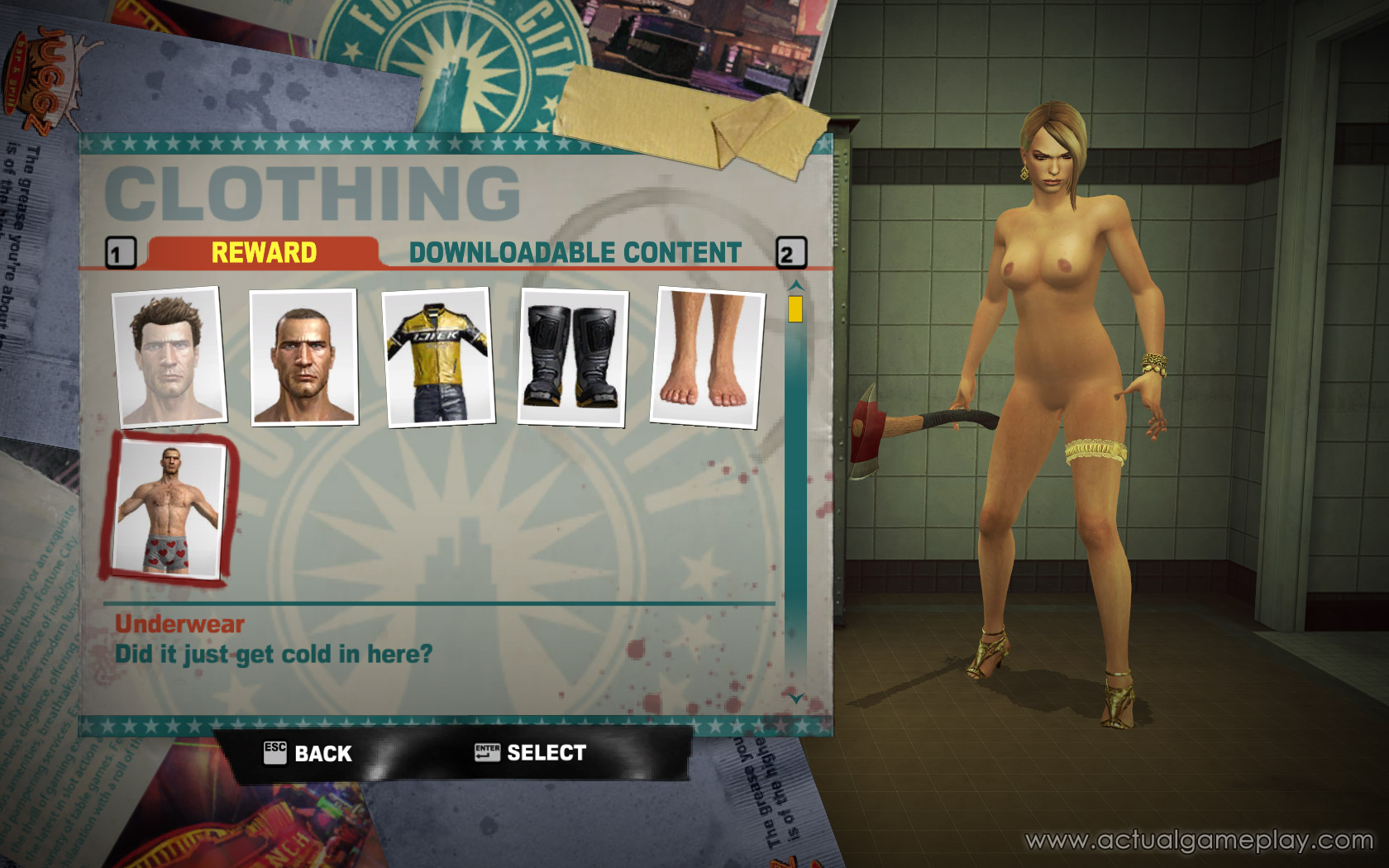 Dead rising 2 nude exposed clips