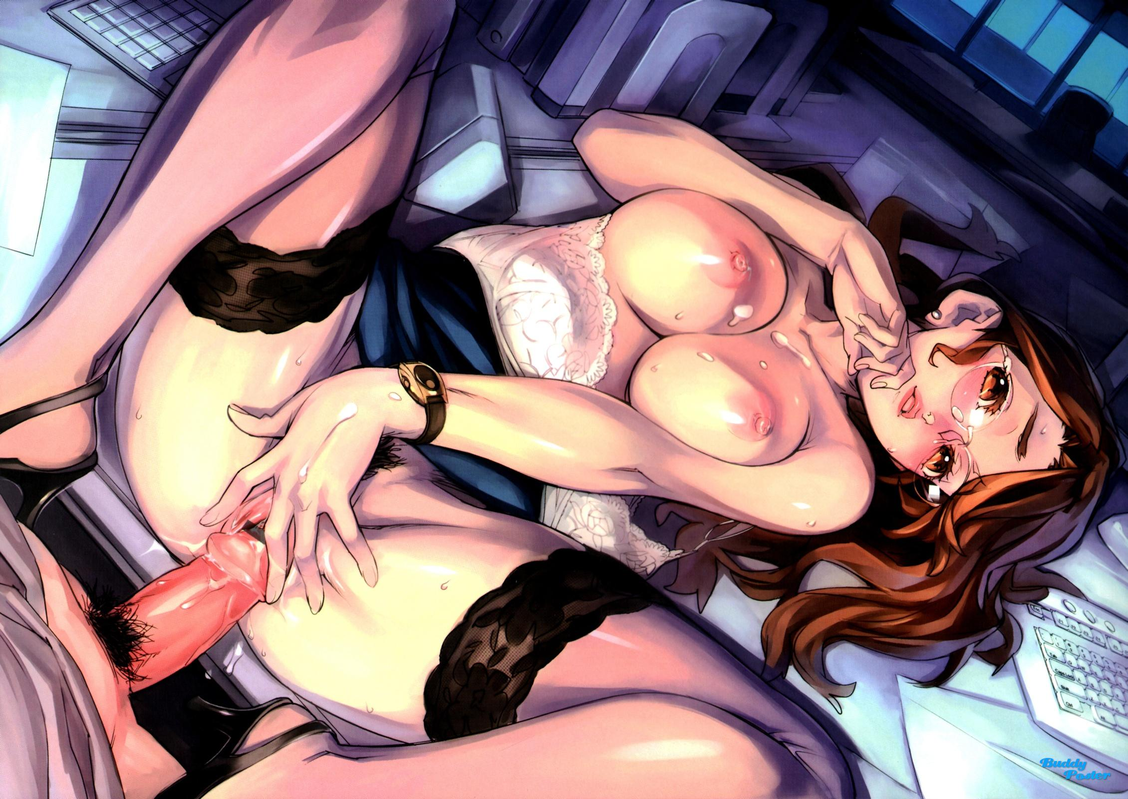 Secretary hentai sex adult movie