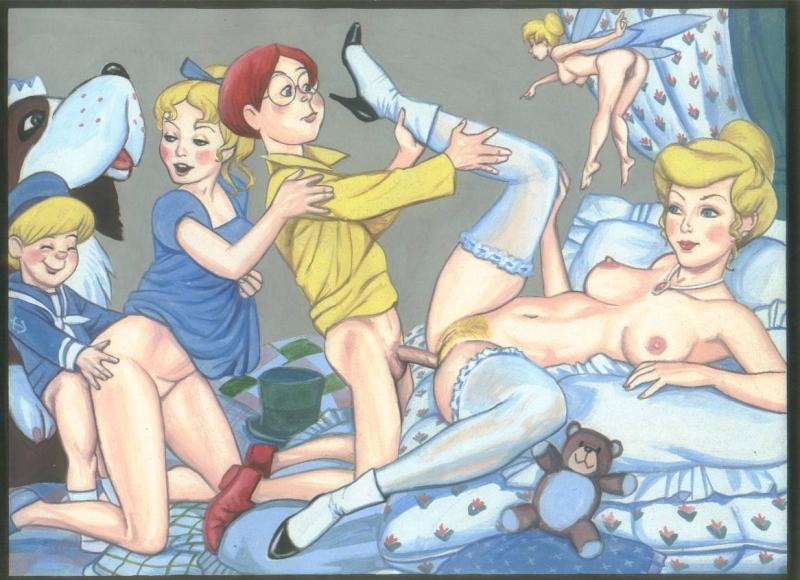 Рисование порно мультфильмов