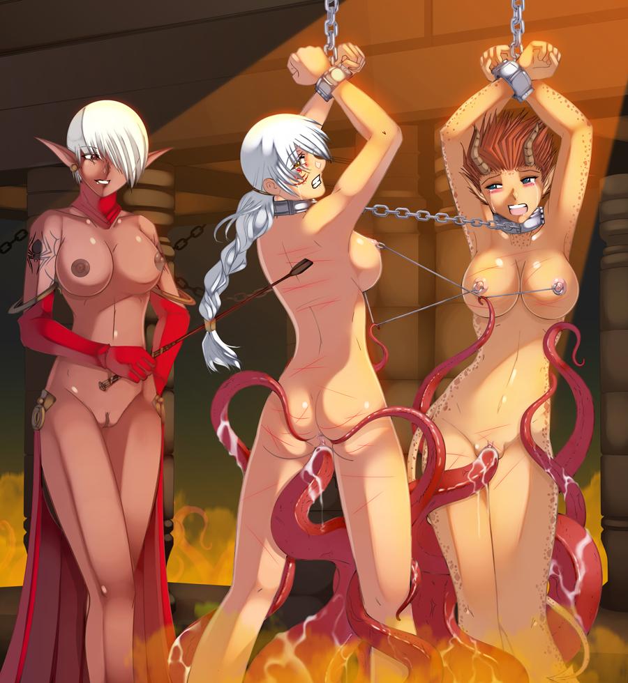 dragons hentai Dungeons elf
