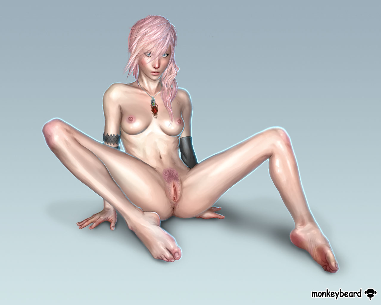 Lightning final fantasy serah hentai
