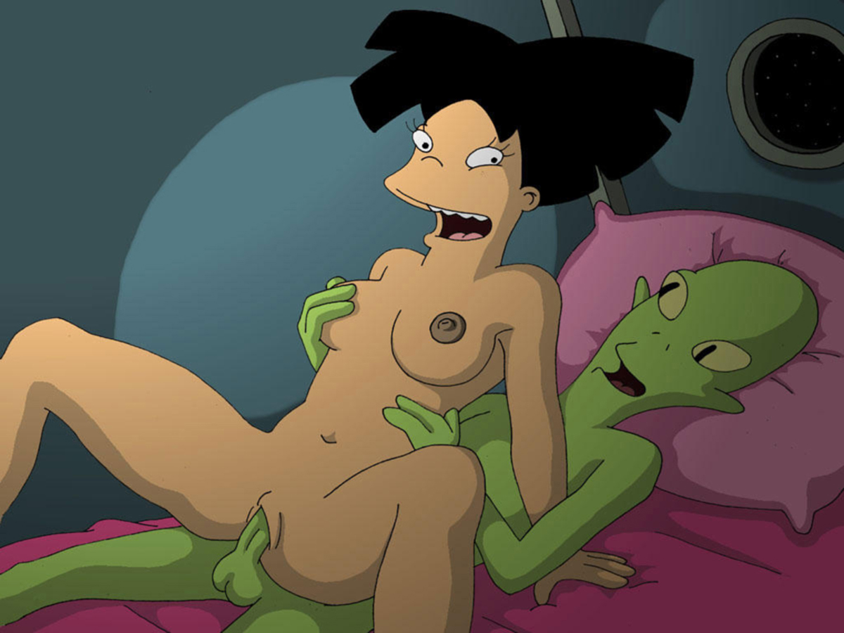 Futurama leela and amy nude