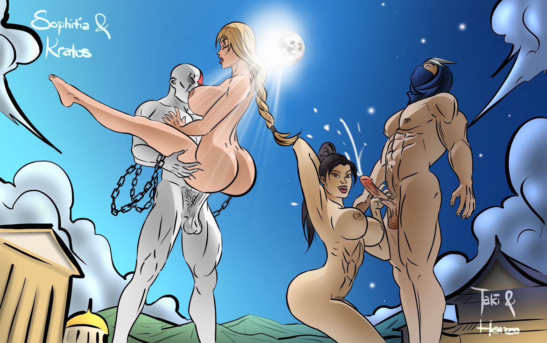 Bree olson takes on two guys in an threesome pichunter XXX
