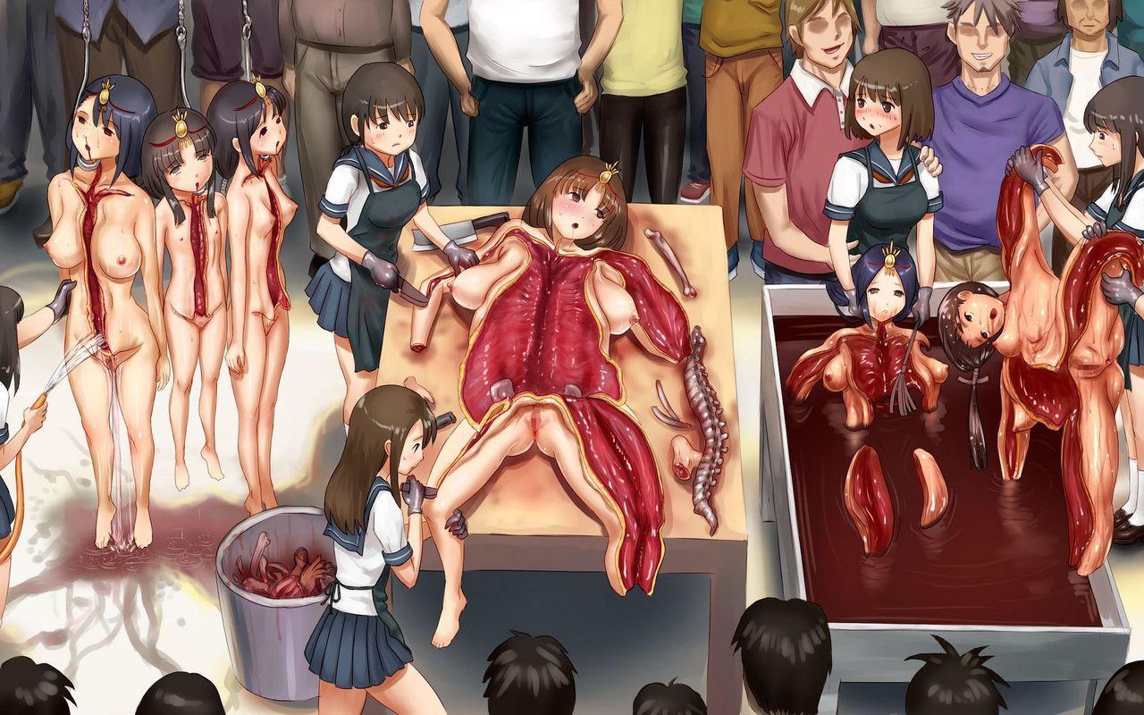 Alluring hentai gore guro manga