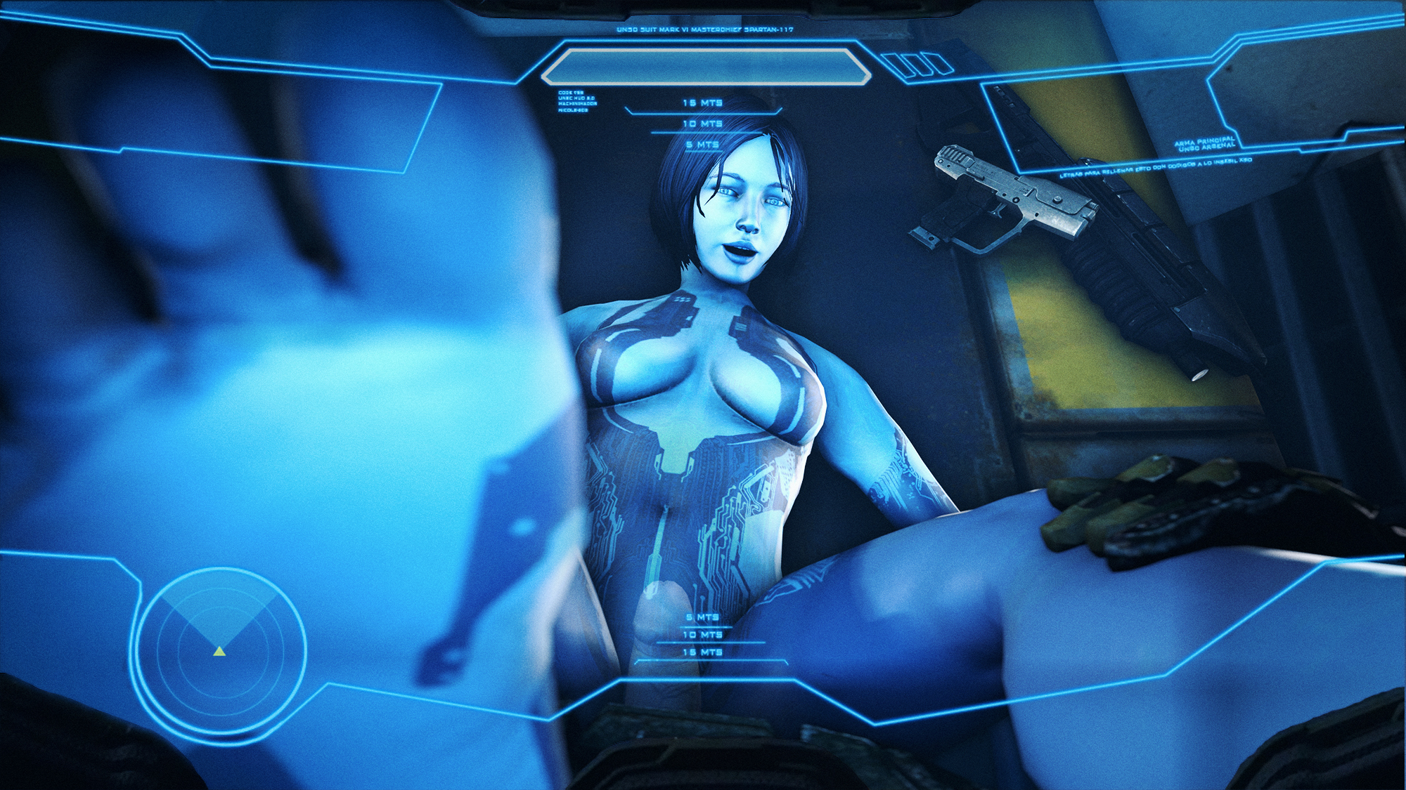 Cortana from halo 4 sex erotic photo