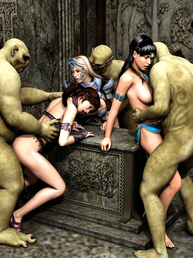 3d порно монстры галерея