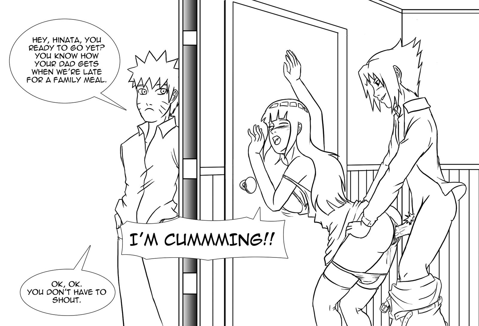 Congratulate, your Hinata cheating with sasuke hentai pic what