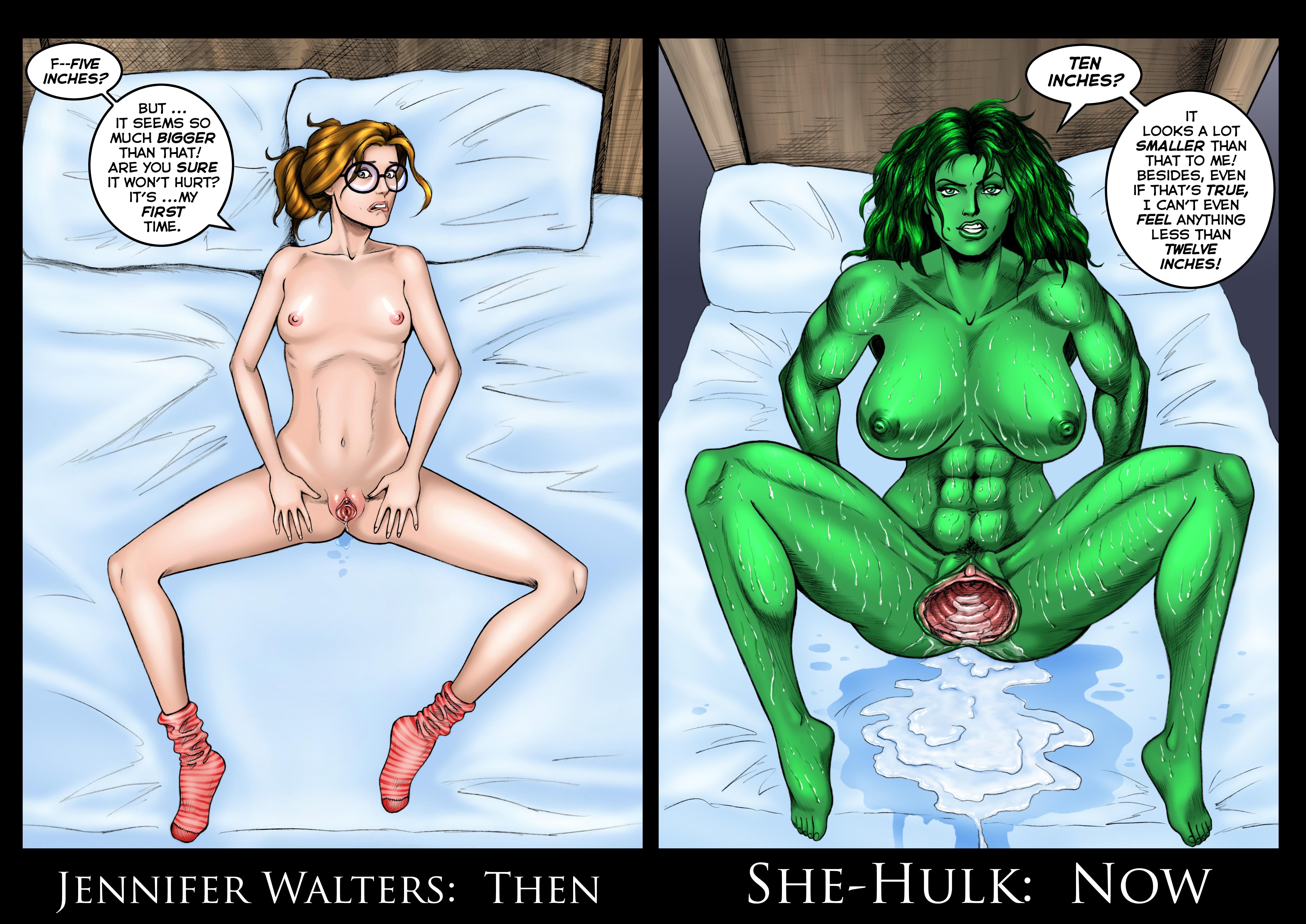 Hentai she hulk She