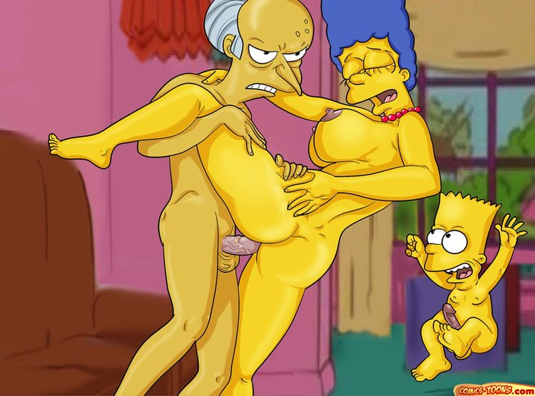 Frankly, you Mr burns the simpsons marge porn
