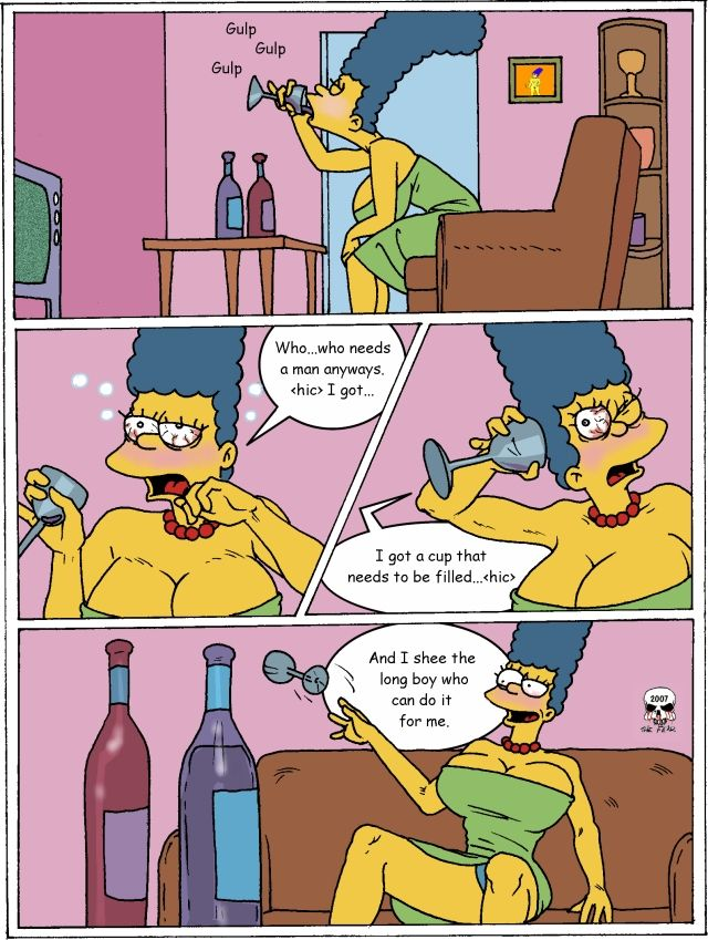 simpsons hentai incest pictures album comic fear simpsons