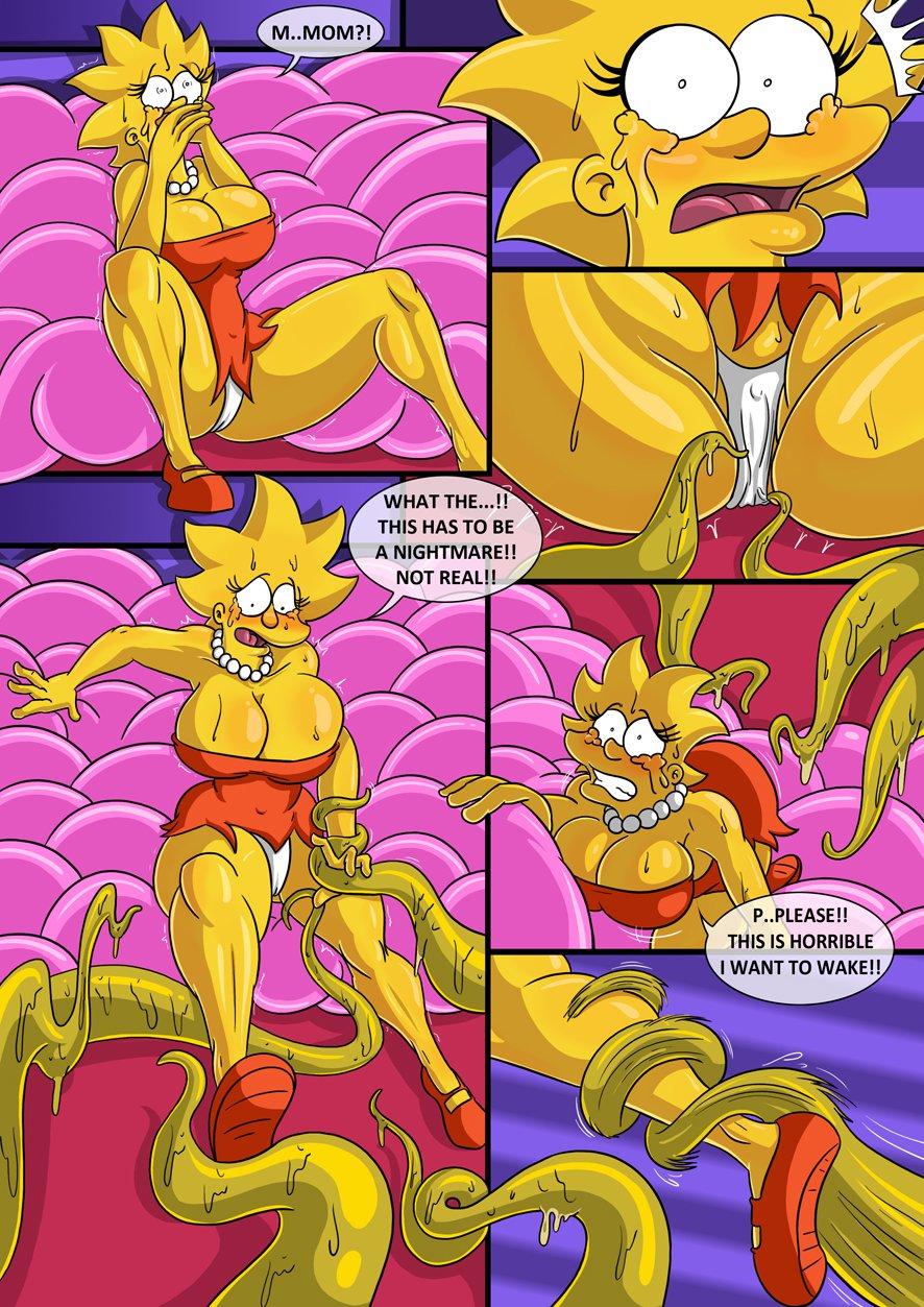 Симпсоны и футурама порно комикс 12 фотография