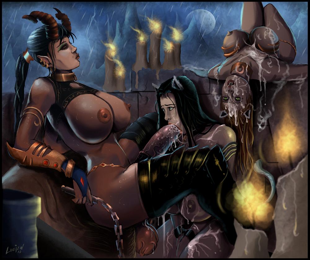 Succubus slave hentai erotic pics