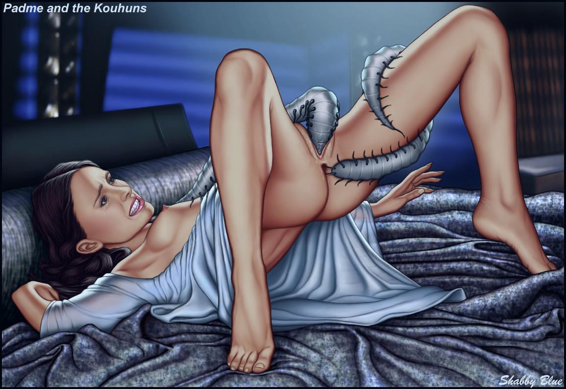 padme and anakin nude