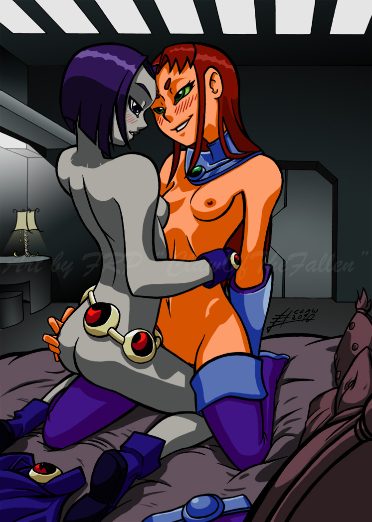Answer matchless... Starfire and raven porn