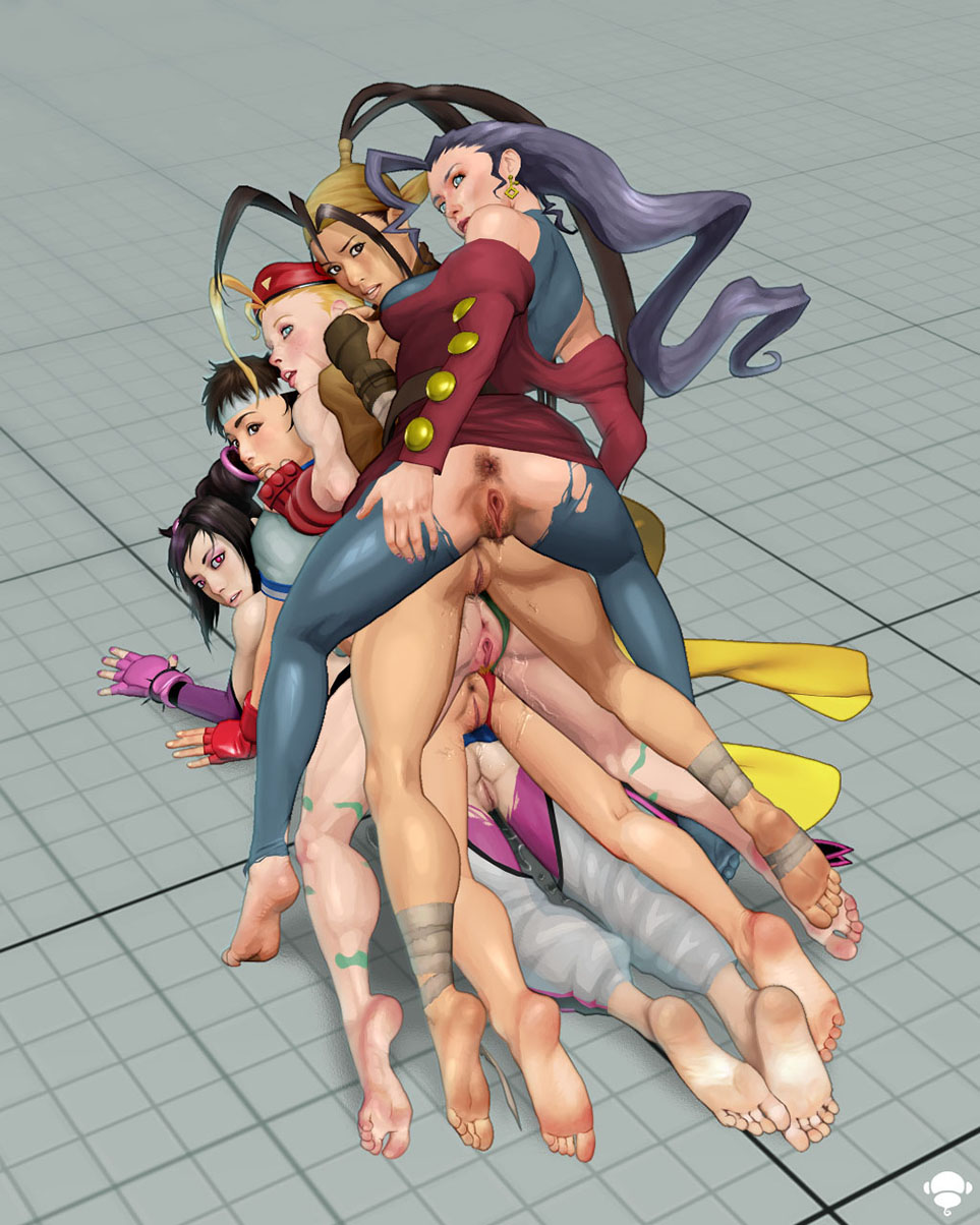 all females from street fighter pussy sexy