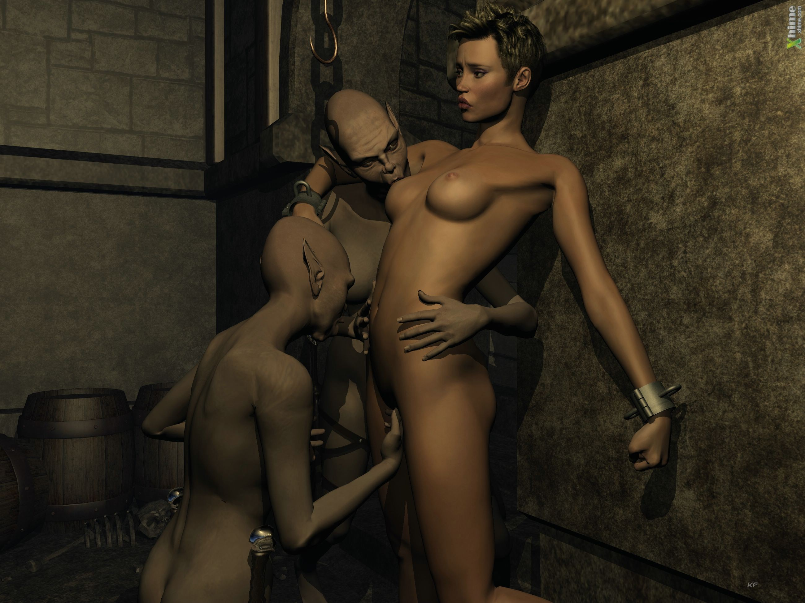 Секс с деманом мультик 18 фотография