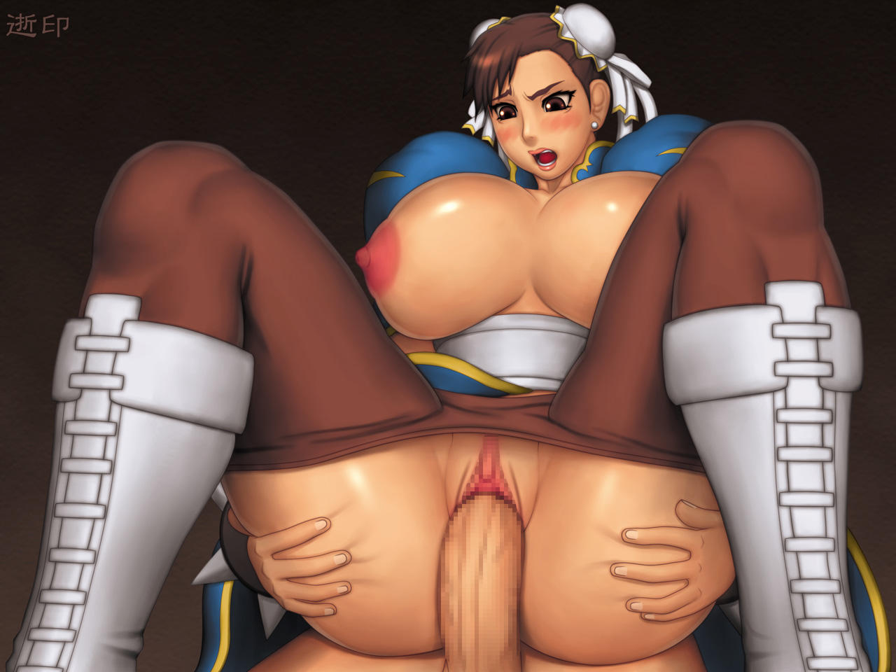 Стрит файтерс порно игра, Street Fighter - порно игра, видео и фото 5 фотография