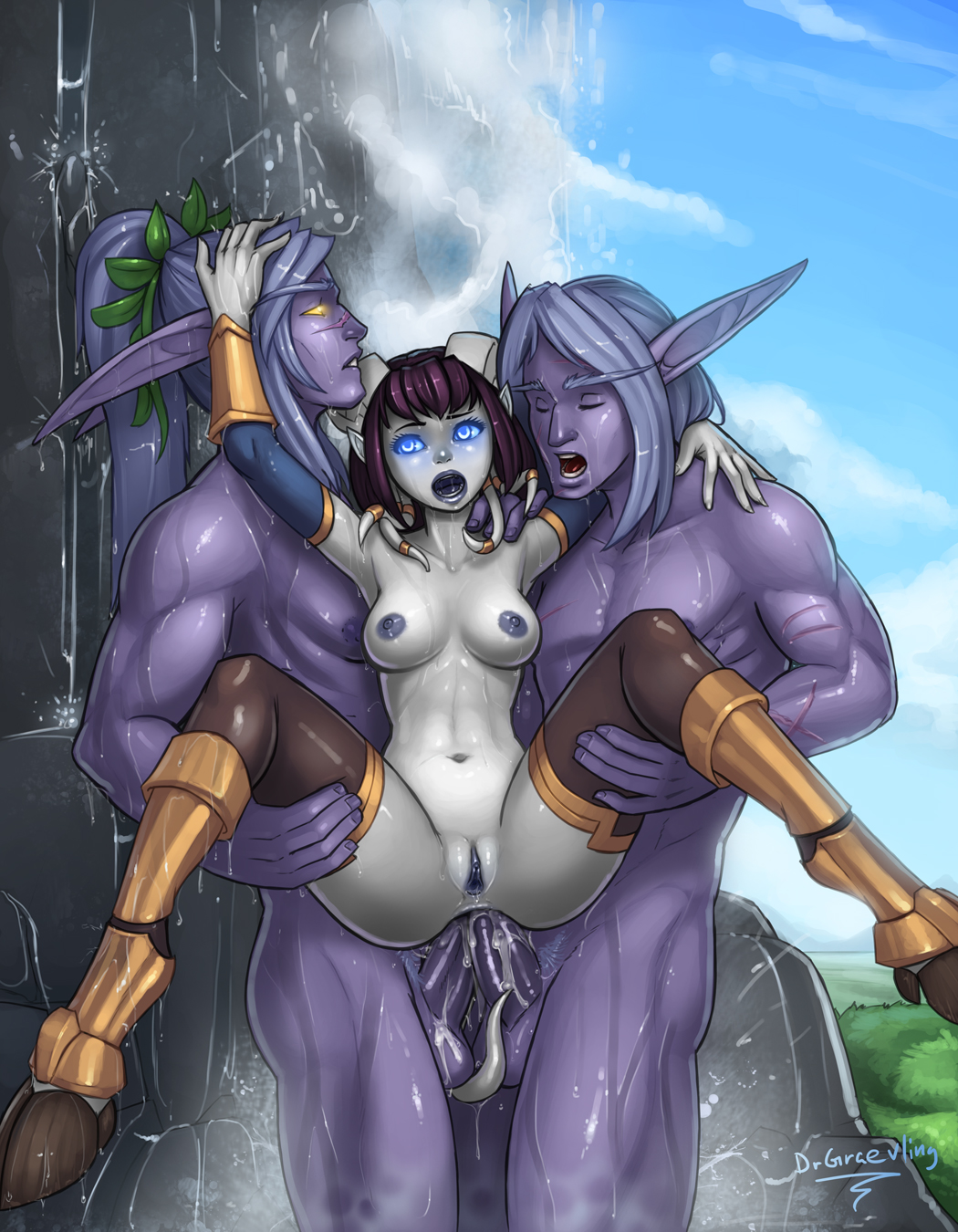 Worl d of warcraft elf porn pic hentia galleries