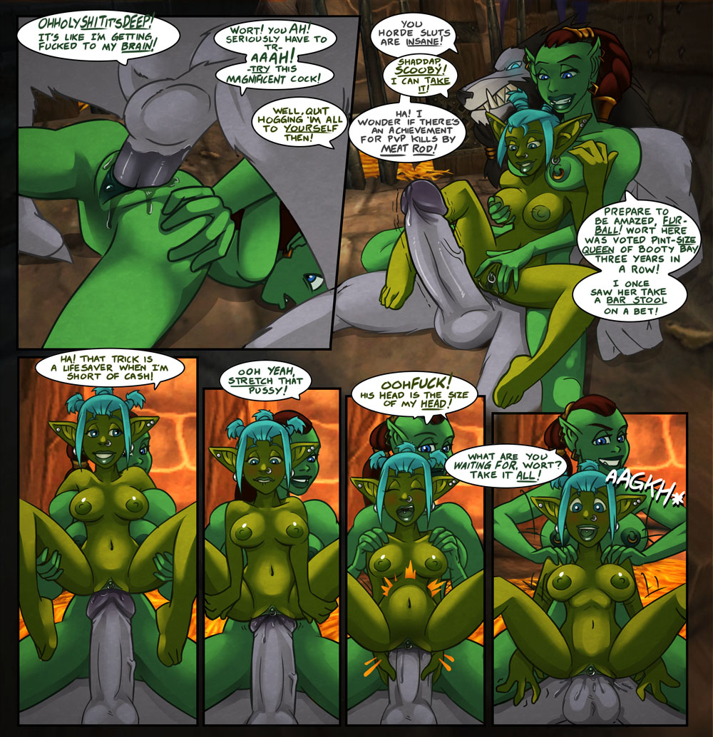 World of warcraft orc porn comics