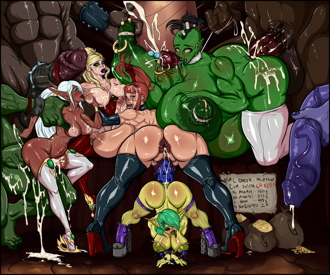Orc anal world of warcraft porn movies
