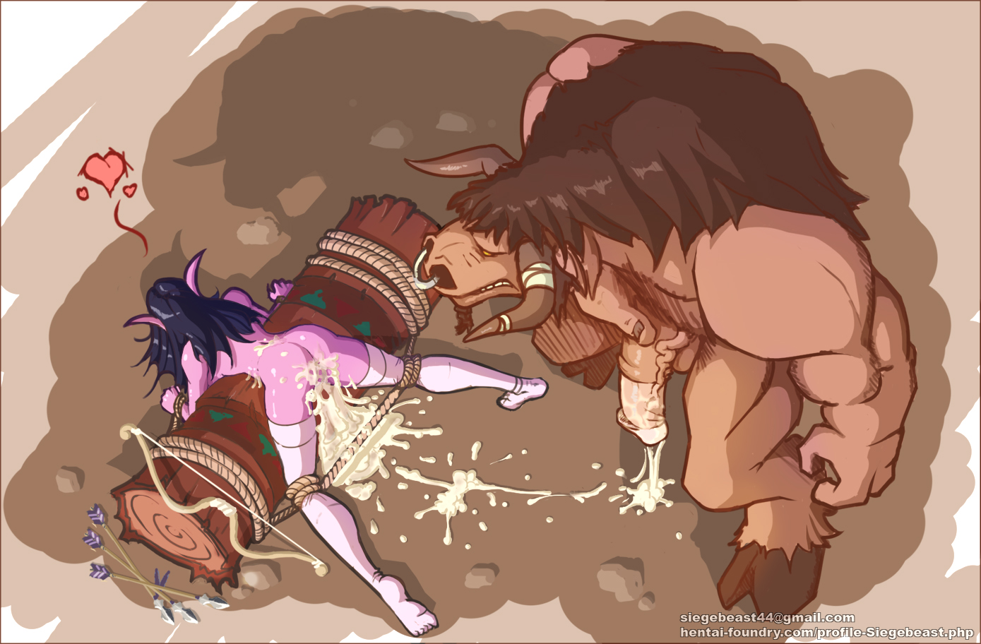 Tauren vs blood elf hentai smut pics