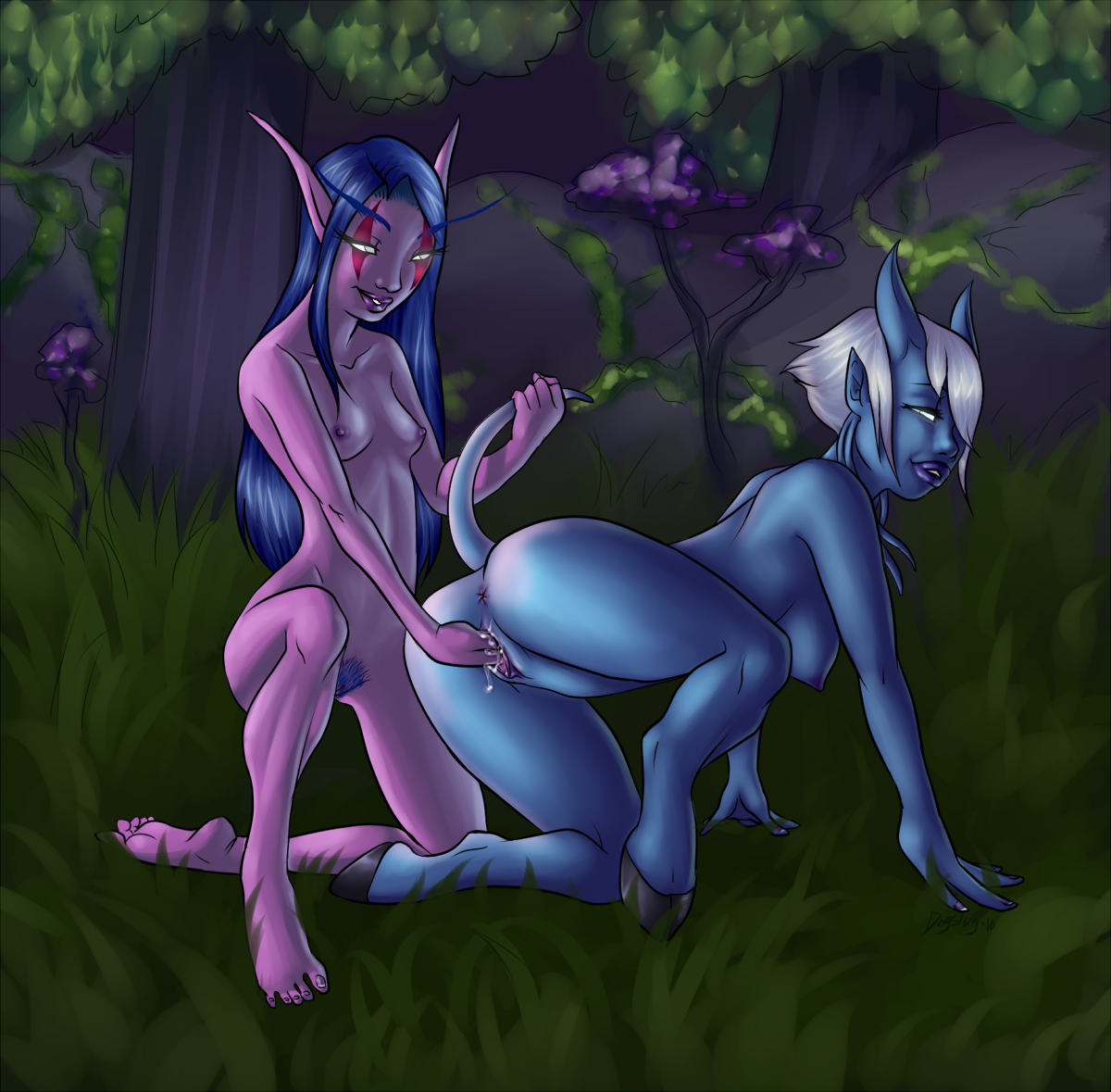 World of warcraft lesbian draenei exposed picture