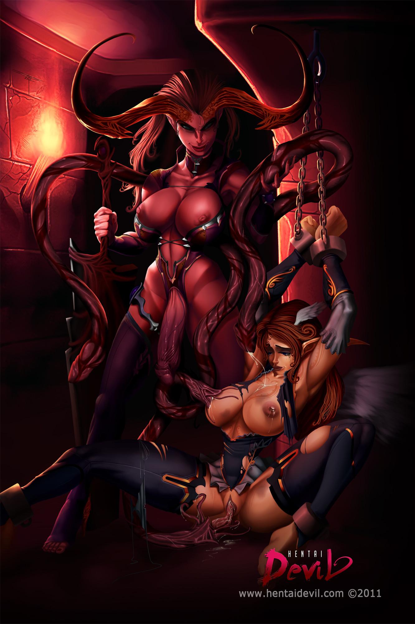 Demonic porn pix nude clip
