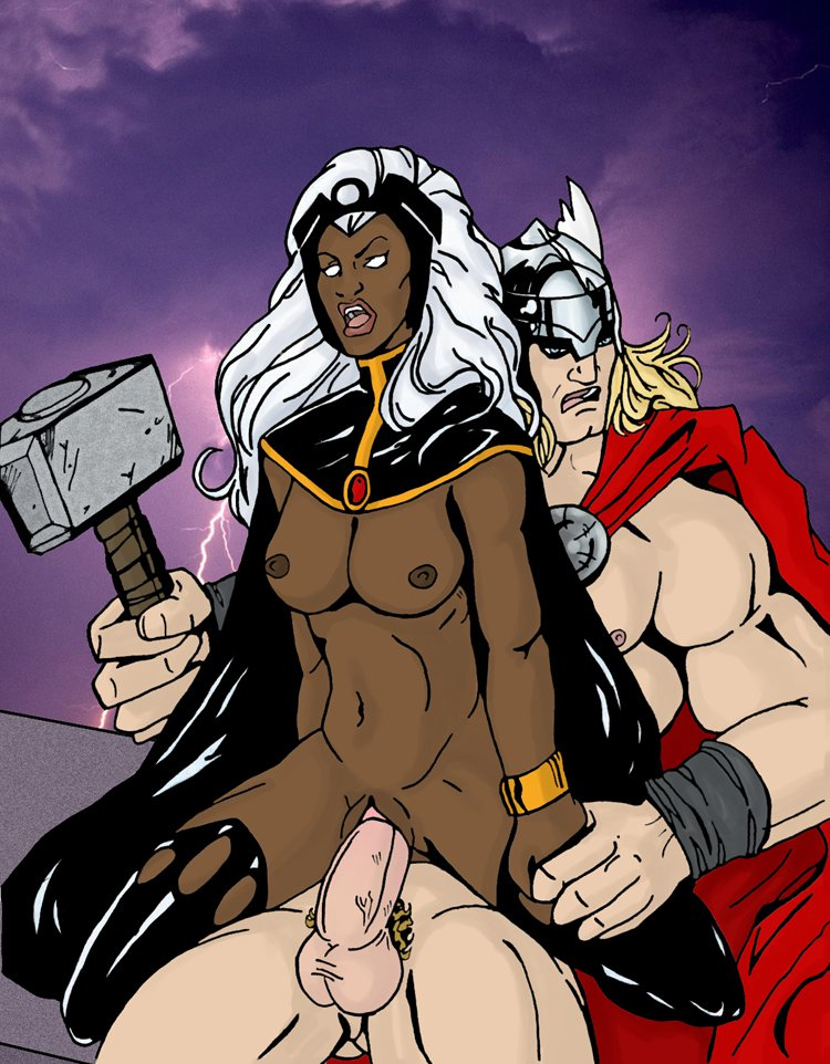 thor and storm dating sim