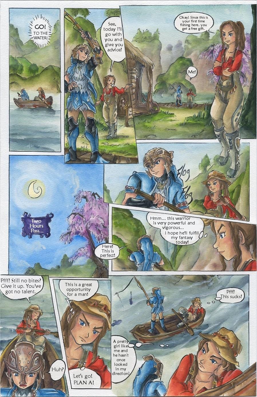 twilight porn of comics zelda Legend princess