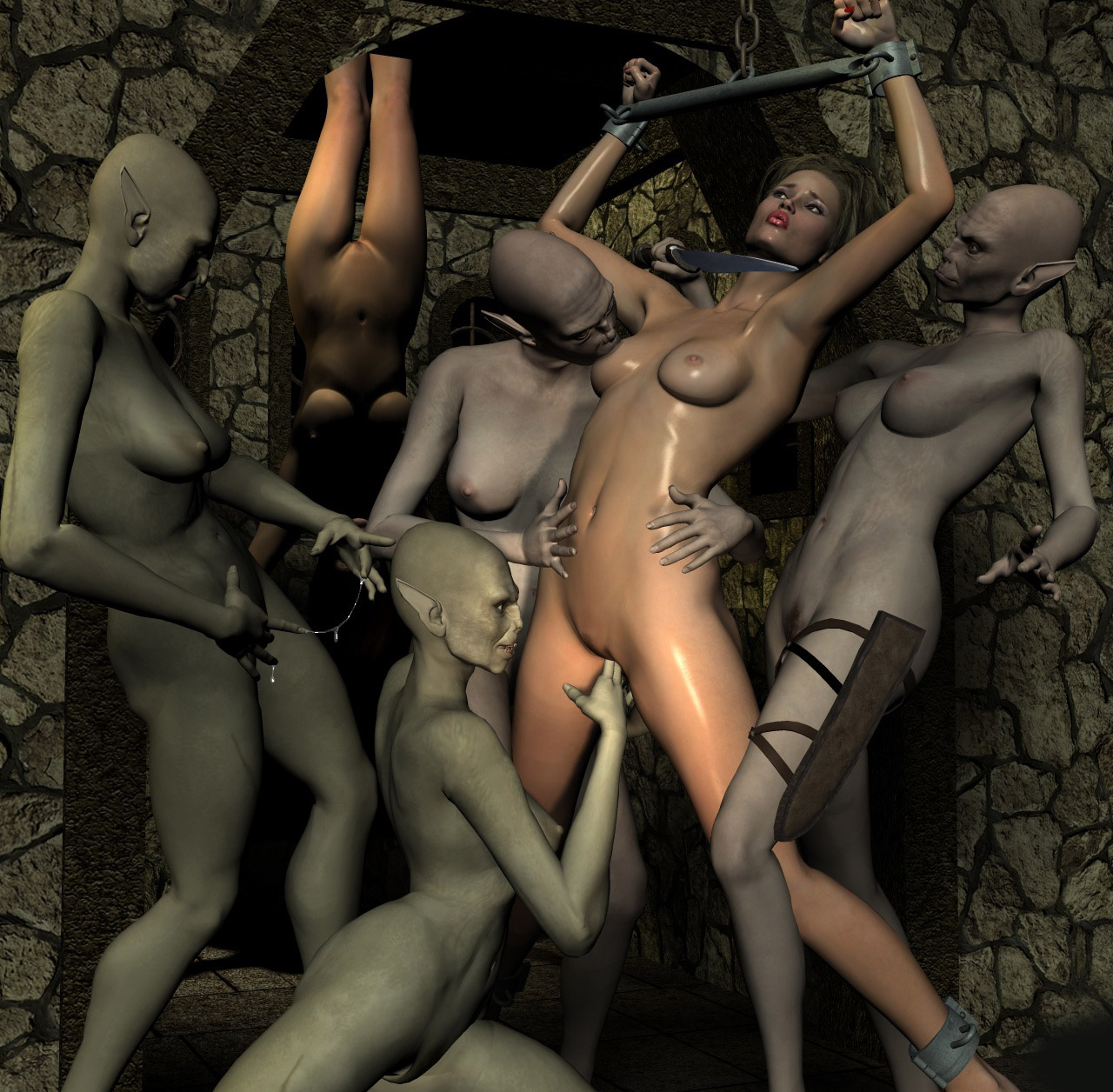 Monster 3d xxx art work pics sexy scenes