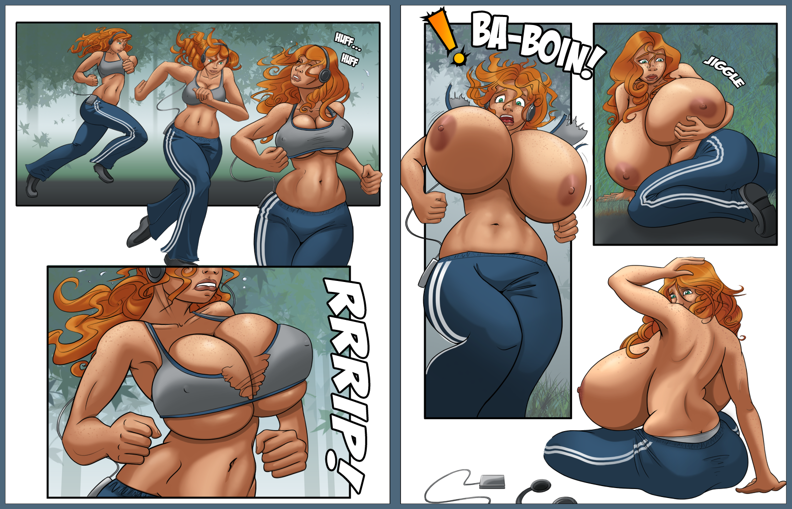 Hentai breast inflation breast expansion
