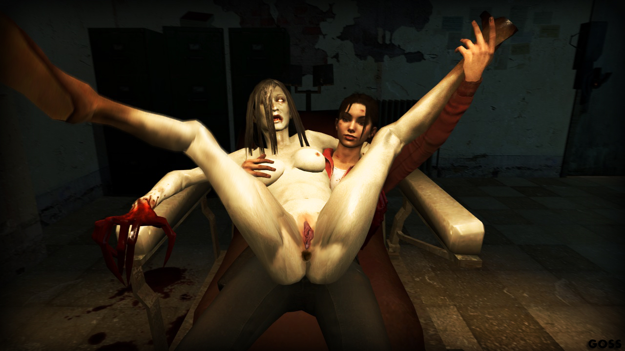 Секс видео зои и зомби left 4 dead