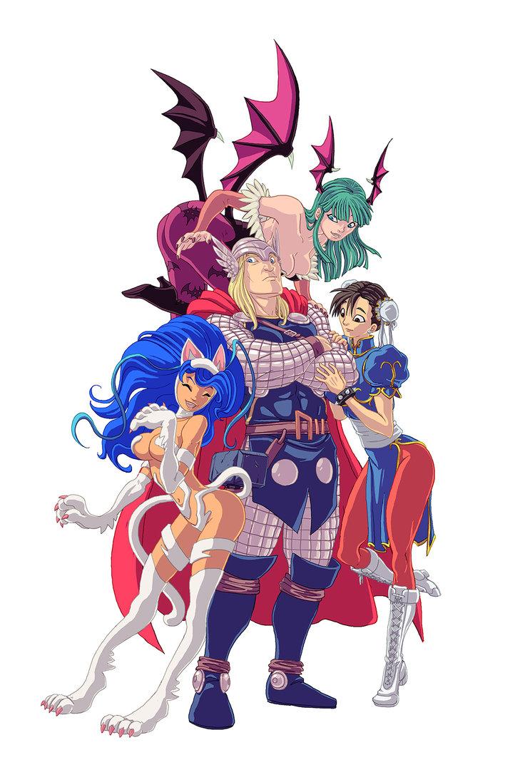 Capcom hentai