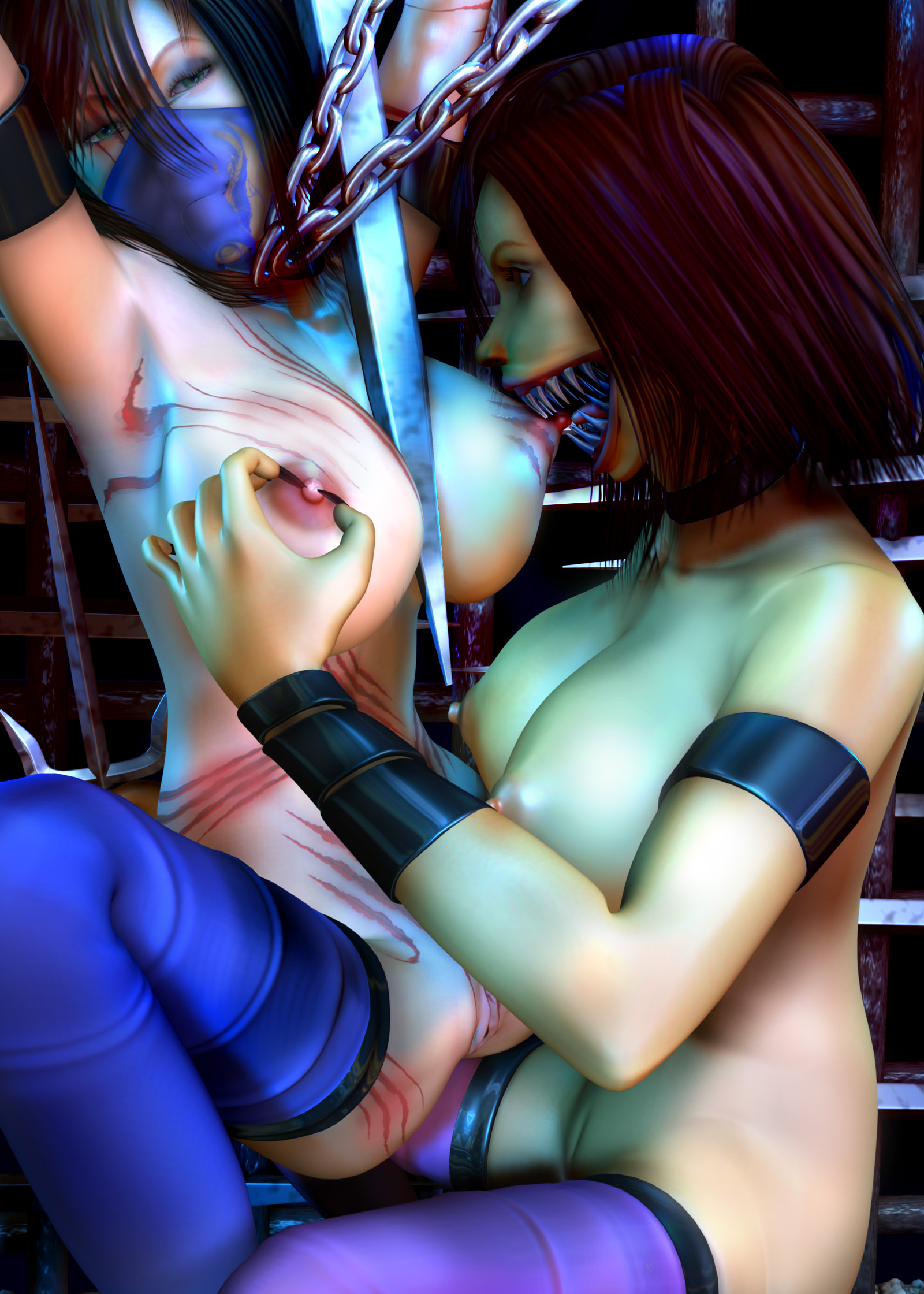 Agree with Sexy mortal kombat girls naked logically the