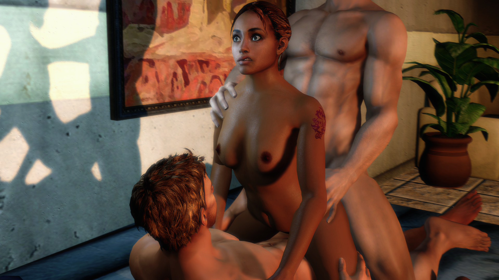 Resident evil 5 sheva gets fucked porn  porn clips